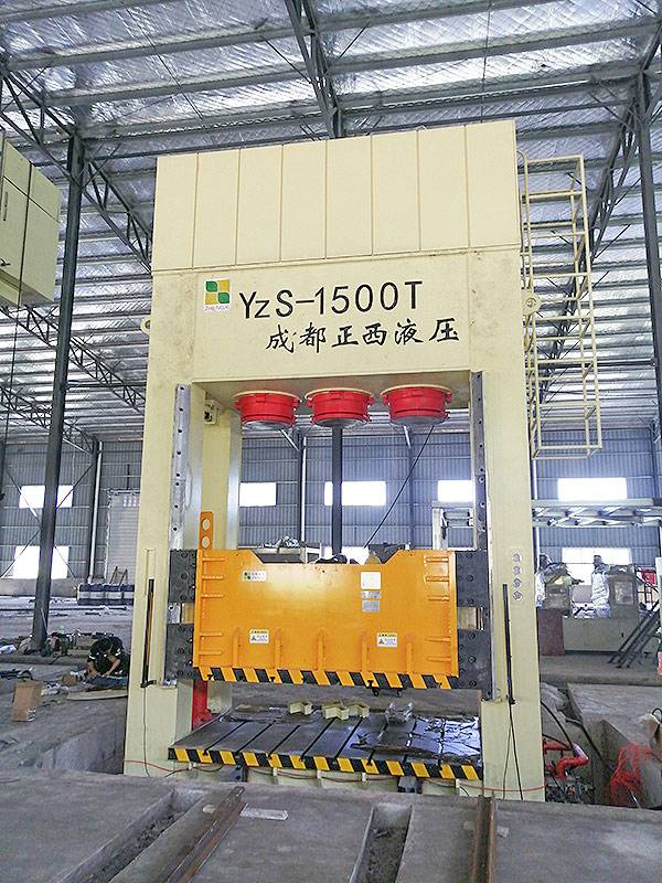 1500T SMC hydraulic press