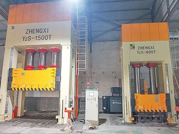1500T and 800T hydraulic press