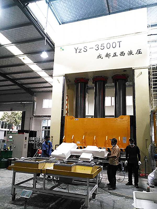 3500T Press Machine for SMC power battery case
