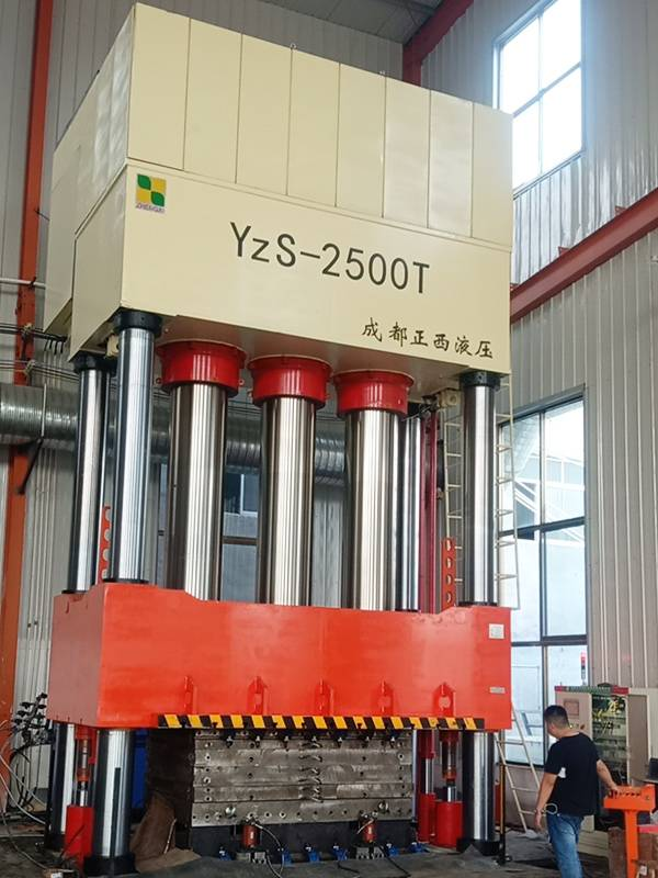 4 column 2500T SMC hydraulic press