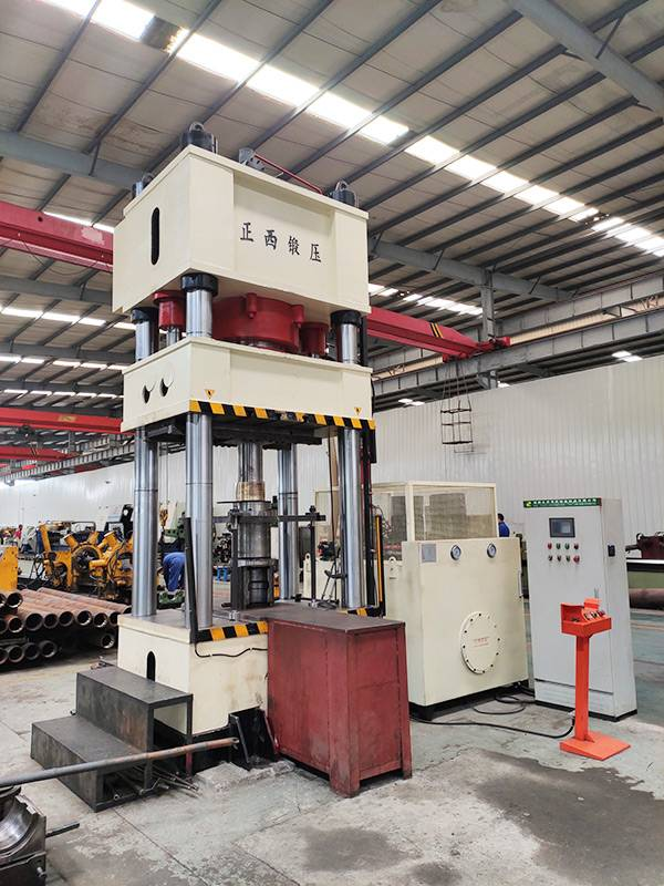 800T hydraulic press for oil pipe line