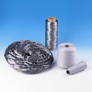 High temp resistant stainless steel fiber sliver