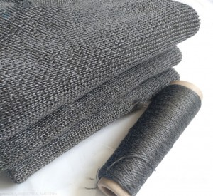 Thermal resistant FeCrAl fiber fabric