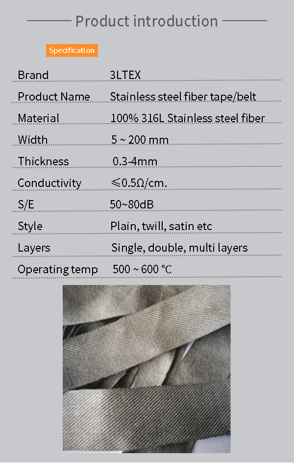 high temp resistant stainless steel tapes