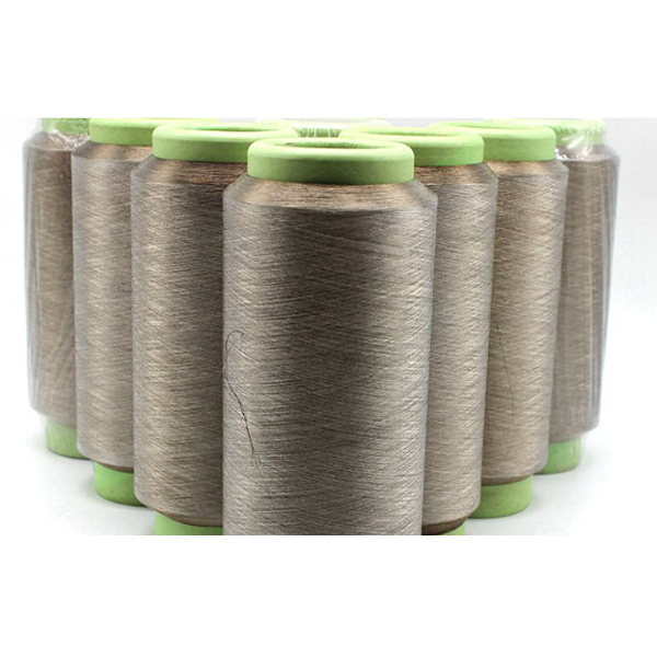 Newly Arrival Esd Yarn - Silver coated polyamide conductive yarn – 3L Tex