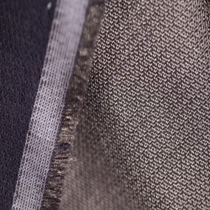 Double faced silver conductive fabric