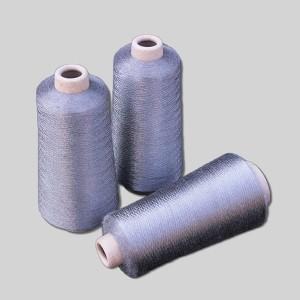 Top Quality Stainless Steel Yarn - stainless steel fiber spun yarn – 3L Tex