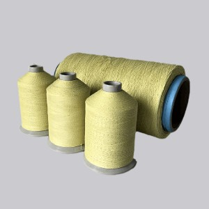 Kevlar Covered FeCrAl threads