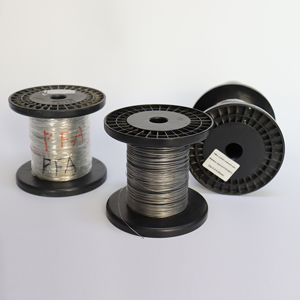 China Supplier Metal Fiber Thermal Resistant Thread - Teflon insulated conductive wire – 3L Tex Featured Image