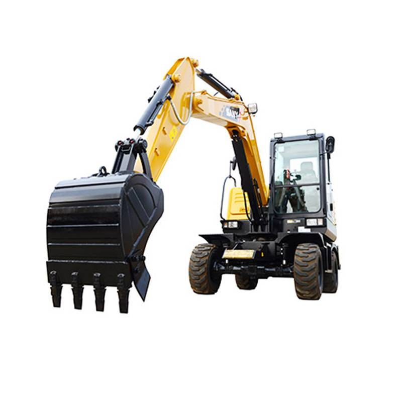 6ton ssy65w China New Wheeled Excavator Price