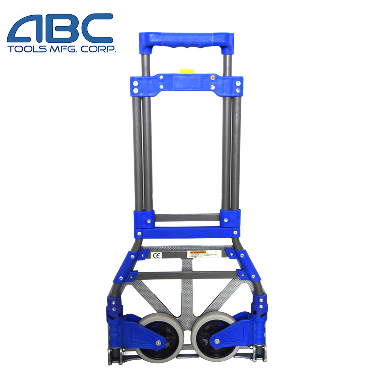 Compact Foldable Aluminum Hand Truck with telescoping handle