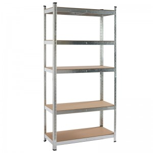 5 Tier Galvanized Steel Shelving Boltless Garag...