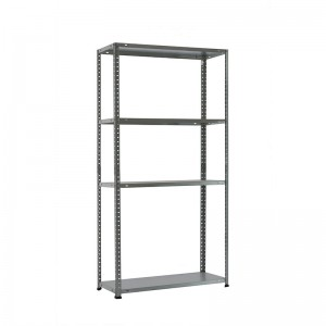 Heavy duty medium weight raw material metal sheet home storage rack iron shelf
