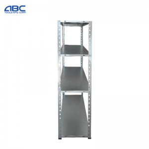 30kgs light duty durable galvanized steel bolted shelves for commercial kitchen use