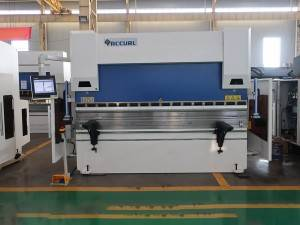 ACCURL 4 Axis Hydraulic CNC Press Brake with Delem DA58T 2D Graphical Touch Screen