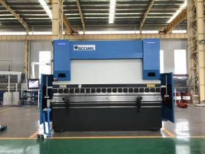 ACCURL 3 Axis CNC Press Brake 110 ton x 3200mm with DELEM DA52s CNC System
