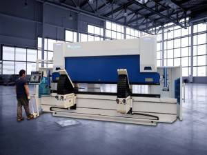 China Cheap price Mini Press Brake Machine - ACCURL 10-Axis CNC Press Brake Bending Follower Supports System – Accurl