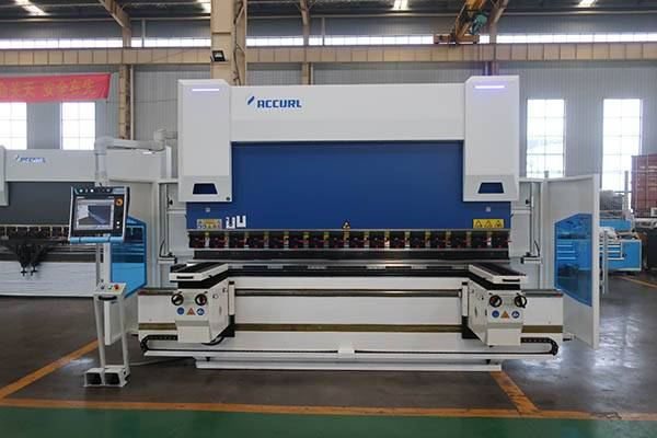 ACCURL 9-Axis CNC Press Brake Euro Pro B32229 DLEEM DA69T 3D visualization System|Bending Follower Supports System