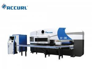 ACCURL Servo CNC Turret Punch Press  MAX-SF-30 ton with FANUC Series Oi-PO CNC Control System