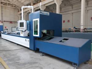 Accurl 1kw 8kw Fiber Laser Cutting Machine For Tube