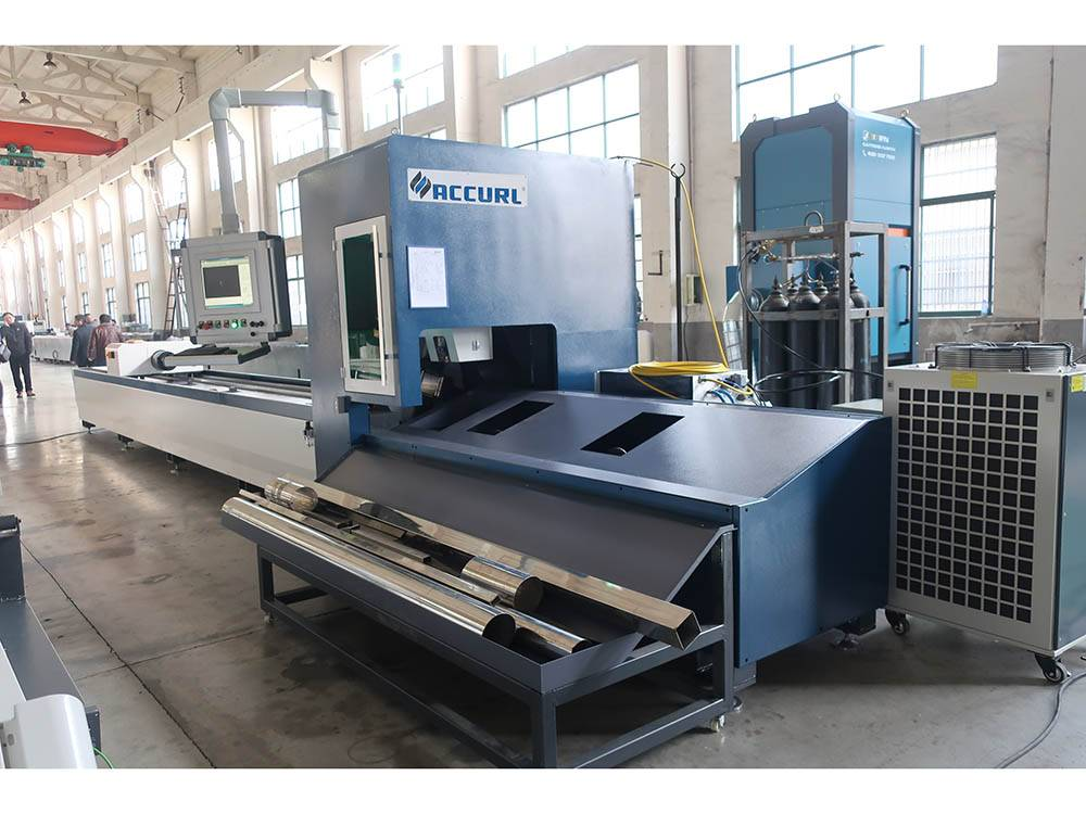 Factory wholesale Carbon Tube Cutter - Accurl 1kw 8kw Fiber Laser Cutting Machine For Tube – Accurl