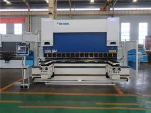 Factory wholesale Press Brake China - Accurl 6+1axis 250T/4000 CNC Press Brake with Delem DA-69T 3D Control – Accurl
