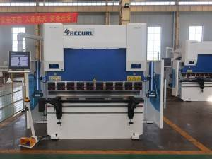 Factory best selling Manual Press Brake Machine - ACCURL 4 Axis CNC Hydraulic Press Brake 110 ton x 3200mm – Accurl