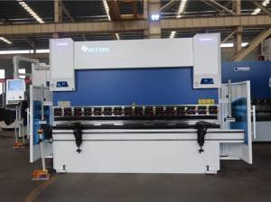 Short Lead Time for Biggest Press Brake In The World - Accurl Hot Sale 3axis 30T/1300 CNC Press Brake with CybTouch 12PS 2D System – Accurl