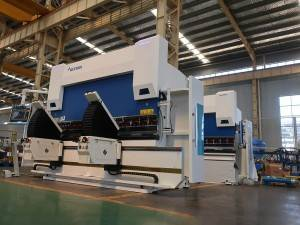 factory low price Cnc Sheet Metal Bending Machine - ACCURL 6 Axis CNC Press Brake EURO PRO B 32110 with 3D Graphical DELEM DA66T CNC System – Accurl