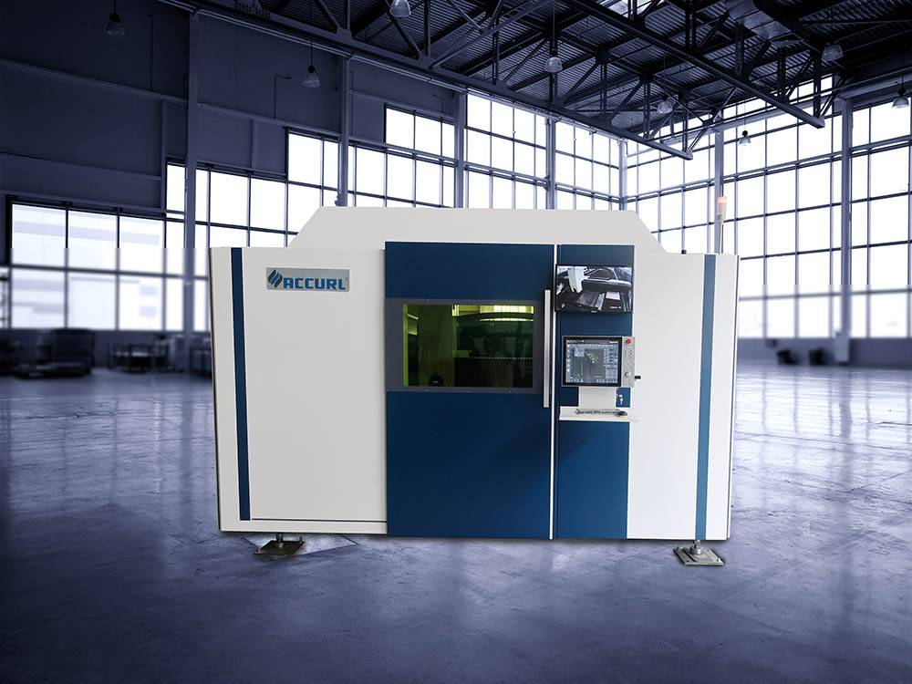 ACCURL Manufacturer 1000w IPG Fiber CNC Laser Cutting Machine for Sale Featured Image