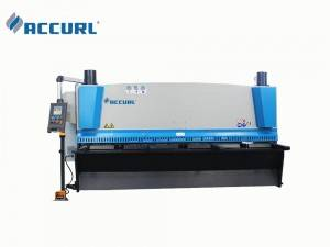 Hydraulic Guillotine Shearing Machine 3200 mm Metal Steel Cutting Machine 20 mm Accurl Germany Type