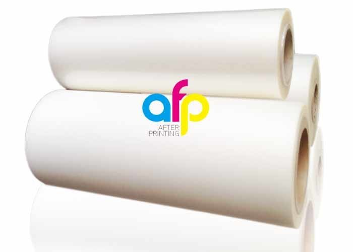 OEM Supply Scratched Film Overlay - Custom Size Polyester Laminating Film , 18 – 250 Micron Thermal Matte PET Film –  After-printing