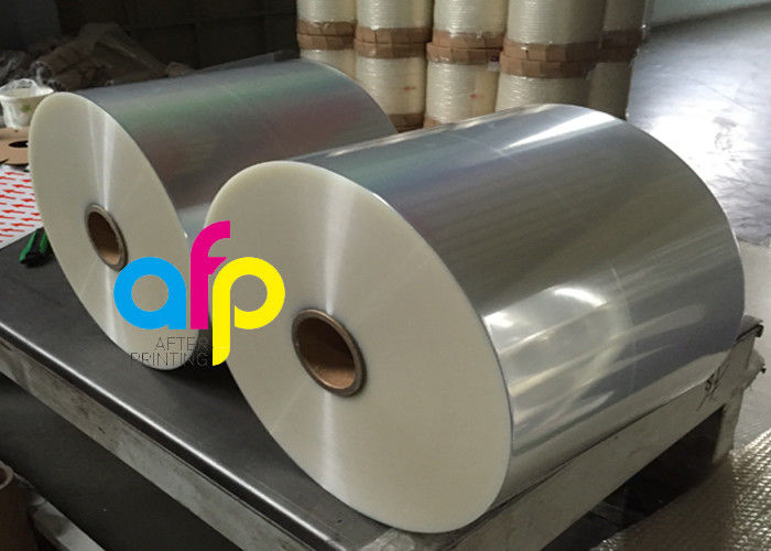 Factory supplied Industrial Packaging Materials - Wet Glossy Flexible Packaging Film 12 Micron Corona Treated 3000 – 9000m Length –  After-printing