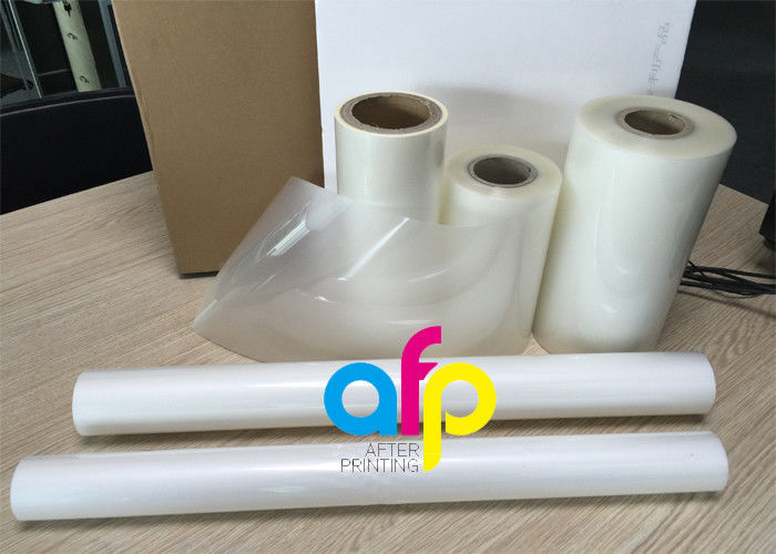 China Cheap price Laminating Rolls - PET Polyester Roll Laminating Film SGS Approval Double Side Corona Treatment –  After-printing