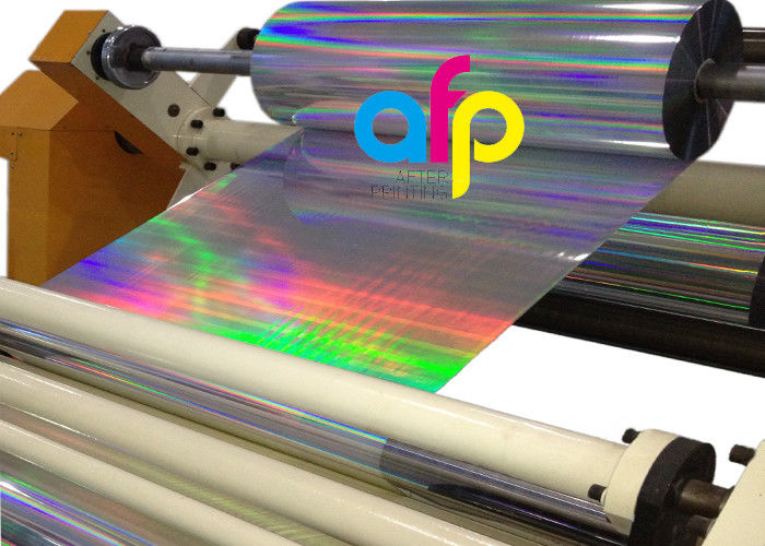 Low price for Stretch Film Plant - Hot Laser Holographic Film Seamless Rainbow Transparent PET EVA Material –  After-printing detail pictures