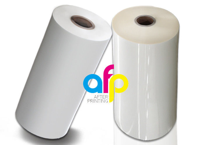 Top Quality Laminating Foil Suppliers - Strong Thermal Bonding Plastic Film Roll, Heat Melt Bopp Transparent Film Rolls –  After-printing