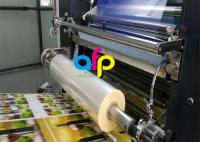 Water Based Laminate Cold Laminating Film , Multiple Extrusion BOPP Plastic Film