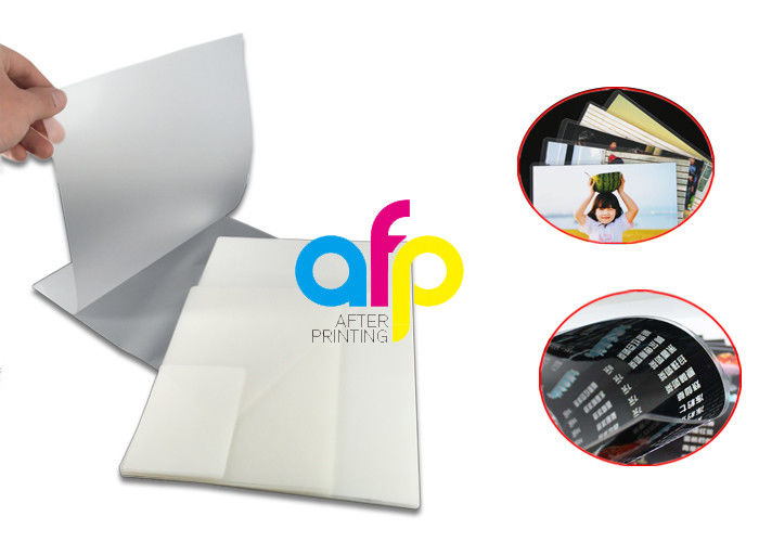 PriceList for Large Laminating Pouches - Transparent Pouch Laminating Film Sheets For Picture / ID Card Protection –  After-printing detail pictures