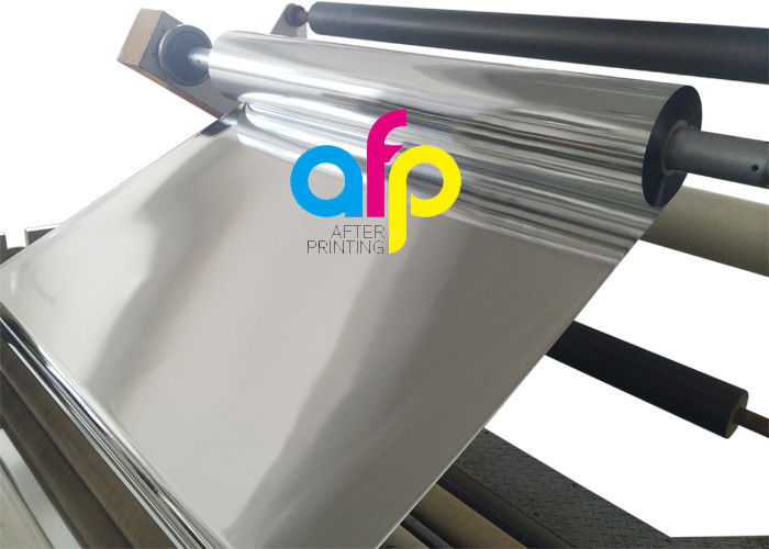Good User Reputation for Pe Lamination Film - 1 Inch Core Glossy Metalized Thermal Lamination Film BOPP / PET Material –  After-printing