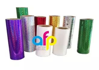 Best quality Stretch Film For Moving - Customized Hologram Logo Service BOPP Holographic Pattern Lamination Film for Shopping Bags Packaging –  After-printing