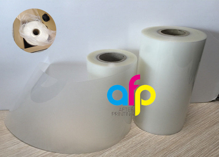 OEM Manufacturer Film Polyamide - 18 Mic Laminating Plastic Roll , PET EVA Gloss Laminated Packaging Films –  After-printing