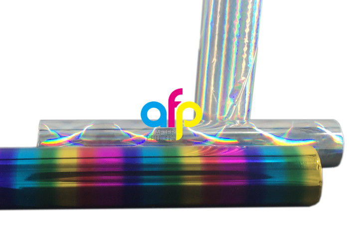 OEM/ODM Factory Hot Foil Printing Machine - Silver/ Rainbow Hot Stamping Foil With Holographic / Laser Pattern –  After-printing