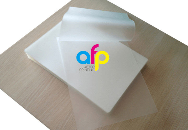 Rapid Delivery for Roll Laminating Machine - 60~350 Micron Glossy Pet Polyester Pouch Laminating Film For Document Photo Menu Lamination –  After-printing