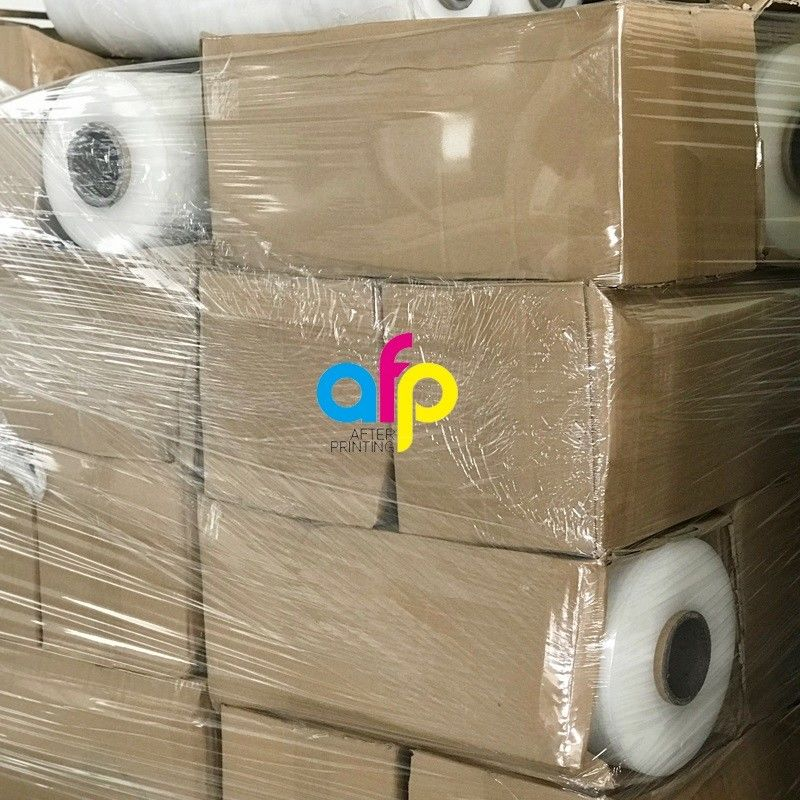 Best-Selling Packaging Material Specification - 400 Mm Cast 17 Micron Extended Core Pallet Stretch Wrap –  After-printing
