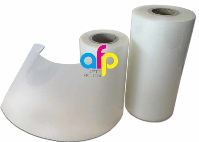 China wholesale Laminating Roll Suppliers - 75 Mic Roll Laminating Film Genuine / Real Matte Polyester Material –  After-printing