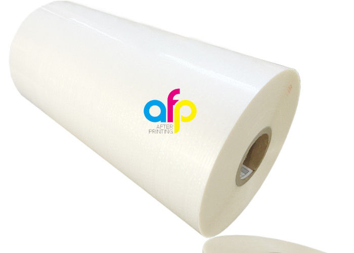 PET / BOPP Gloss Laminating Film With Luster Finish 15micron – 30mic