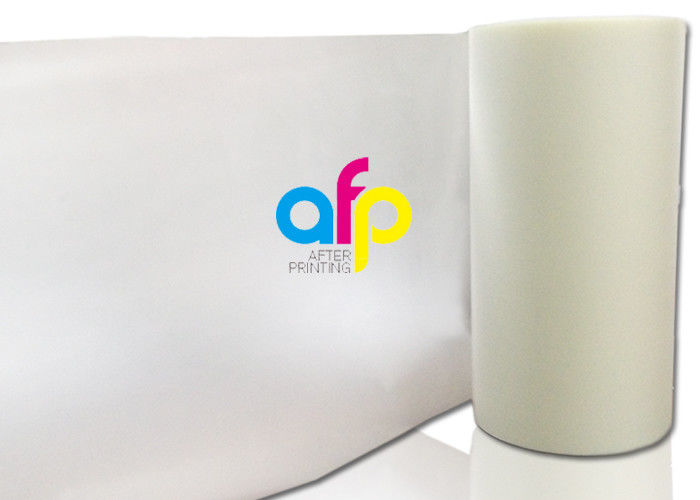 Excellent quality Velvet Laminate - 27 Mic BOPP Laminating Film Roll , 3 Inch Core Cosmetic Packing Film Roll –  After-printing detail pictures