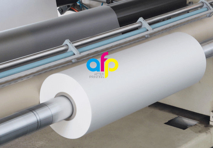 Low price for Scratch Resistant Acrylic Coating - BOPP Thermal Matte Lamination Roll 600mm*4000m Size for Package –  After-printing
