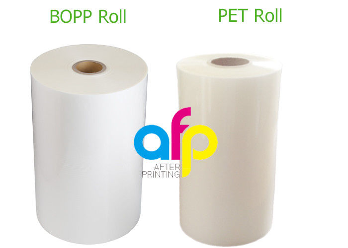 Soft Thermal Lamination Film EVA Adhesive Glued Transparency / Opaque