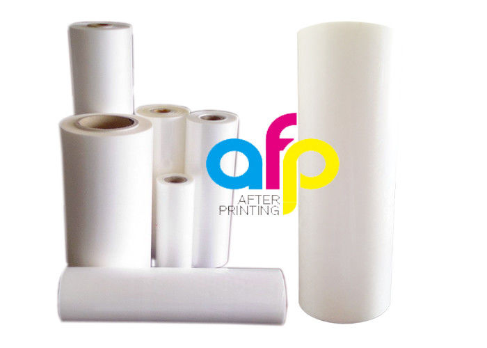 Fast delivery Film For Glitter - Customized Size Glossy / Matt Lamination Roll , Plastic Clear Laminate Roll –  After-printing
